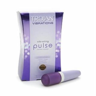 TROJAN Vibrations Vibrating Pulse Intimate Massager 1 ea (Pack of 6)