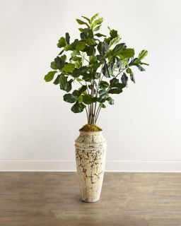 John Richard Collection Fiddle Leaf Fig Faux Greenery