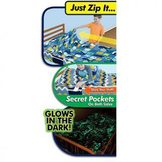 ZipIt Bedding® Reversible Zip Up Bedding   Twin   7848140