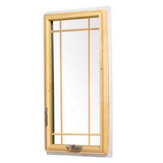 Andersen 24.125 in. x 48 in. 400 Series Casement Wood Window   White 9117172