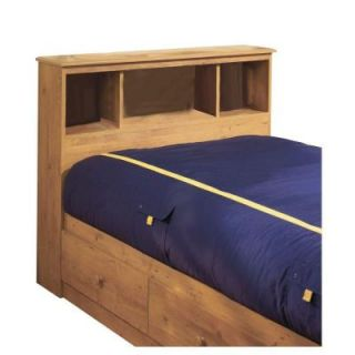 South Shore Furniture Little Treasures Twin Bookcase Headboard in Country Pine 3432098