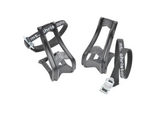 Zefal 43 + 515 Bicycle Pedal Toe Clips and Straps (S/M)