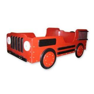 Just Kids Stuff Fire Truck Toddler Bed