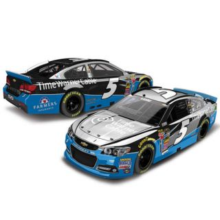Action Racing Kasey Kahne 2015 #5 Time Warner Cable 124 Scale Color Chrome Die Cast Chevrolet SS
