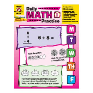 Daily Math Practice Grade 1 Book