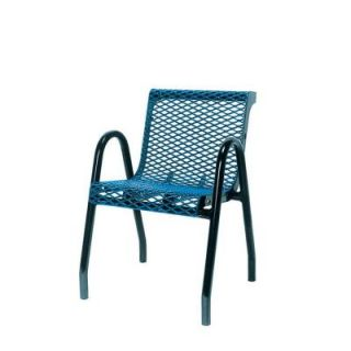 Ultra Play 18 in. Diamond Green Portable Commercial Park Contour Food Court Chair PBK953 VB