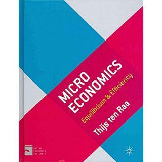 Microeconomics: Equilibrium and Efficiency