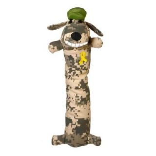 Multipet 12 in. Loofa Support Our Troops Dog Toy 100518132