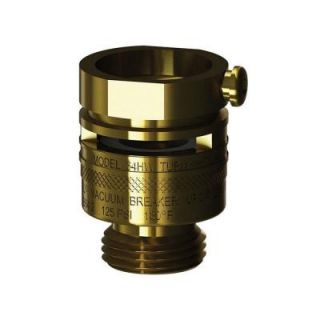 Woodford 1 5/32 in. Special Threads x 3/4 in. Hose Threads Brass Vacuum Breaker 34HW BR