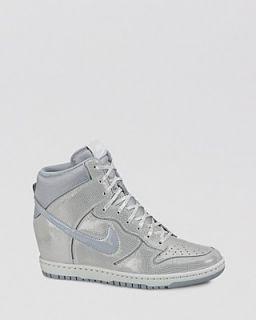 Nike High Top Wedge Sneakers   Women's Nike Dunk Sky Hi