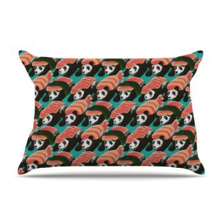 Sushi Panda by Tobe Fonseca Cotton Pillow Sham by KESS InHouse