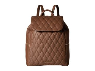 Vera Bradley Quilted Amy Backpack Cognac