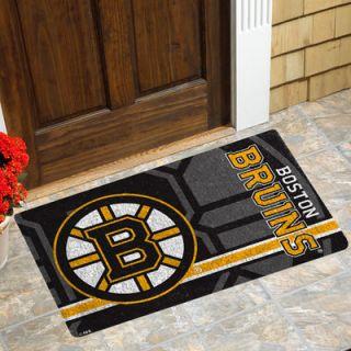 Boston Bruins 18 x 30 Coir Welcome Mat