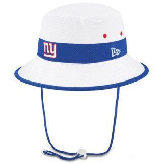 New York Giants New Era On Field Training Camp Bucket Hat   White