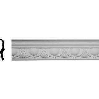 Ekena Millwork 5 1/4 in. x 5 5/8 in. x 96 in. Polyurethane Artis Crown Moulding MLD05X05X07AR