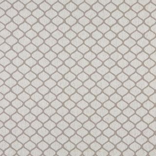 A0005F Grey Off White Modern Geometric Upholstery Fabric (By The Yard)
