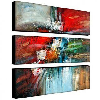Rio 'Cube Abstract IV' Canvas Art   3 Panel Set   7149327