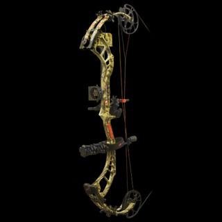 PSE Bow Madness 34 RTS Bow Package RH 50 lbs. Break Up Infinity