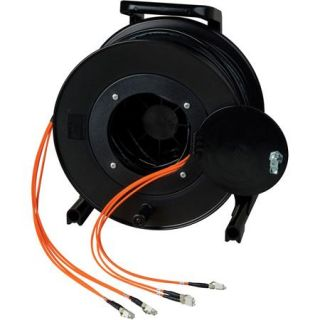 Camplex 1500 12 Channel OM1 LC Multimode Tactical Snake Cable Reel, Orange HF TR12LCM1 1500