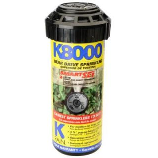 K8000 Professional Pop Up Gear Drive Sprinkler 81031