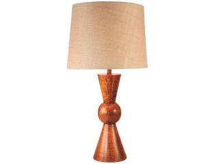 Kenroy Home Rica Table Lamp, Teak   32443TK