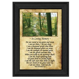 In Loving Memory (Forest) Framed Painting Print