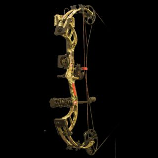 PSE Bow Madness 30 RTS Bow Package RH 70 lbs. Break Up Infinity