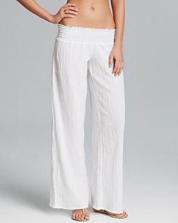 Debbie Katz Gauze Swim Cover Up Pants