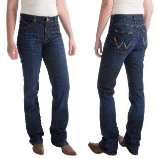 Wrangler Q Baby Ultimate Riding Jeans (For Women) 57