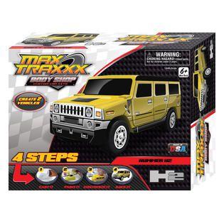 Skullduggery Max Traxxx Body Shop Hummer H2 Casting Kit   Toys & Games