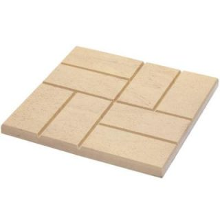Emsco 16 x16 in. Plastic Brick Pattern Resin Patio Pavers (12 Pack) 2156HD