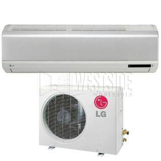 LG LS246HV 24,000 BTU Single Zone Ductless Mini Split Air Conditioner with Heat  Pump Inverter