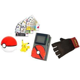 Tomy Pokemon Pokedex Trainer Kit Pikachu   Toys & Games   Action