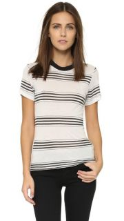 Rolla's Shannon Striped Tee