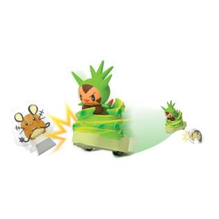 Tomy Pokémon Quick Attackers Chespin   Toys & Games   Action Figures