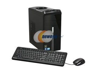 Gateway Desktop PC DX Series DX4822 03 Core 2 Quad Q8400 (2.66 GHz) 8 GB DDR2 1 TB HDD NVIDIA GeForce GT 220 Windows 7 Home Premium 64 bit