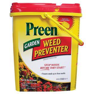 Preen Garden Weed Preventer 16 lbs.   Lawn & Garden   Outdoor Tools