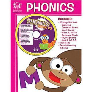 Twin Sisters Phonics Workbook and CD
