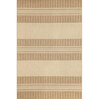 Liora Manne Madison Neutral Stripe Indoor/Outdoor Rug