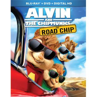 Alvin and the Chipmunks: The Road Chip (Blu ray / DVD / Digital HD