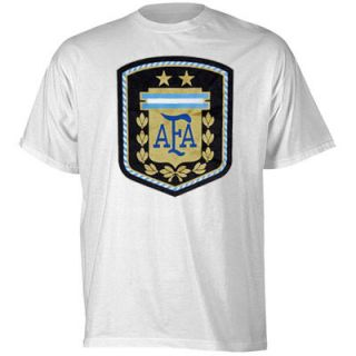 Argentina adidas Futbol Crest T Shirt – White