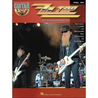 Hal Leonard ZZ Top Guitar Play Along Volume 99 Book/CD