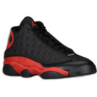 Jordan Retro 13   Mens   Basketball   Shoes   White/Black/True Red/Cement Grey