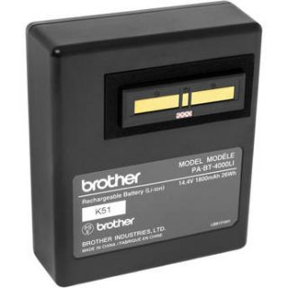 Brother RuggedJet Li ion Battery For RJ4030 K & PA BT 4000LI