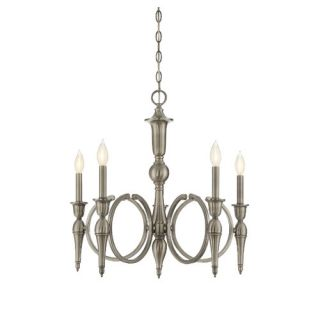 Shannon 5 Light Candle Chandelier by Savoy House