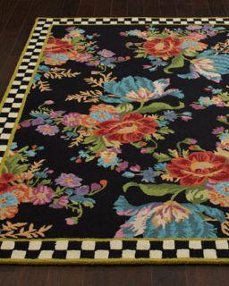 MacKenzie Childs Flower Market Rug, 2 x 3