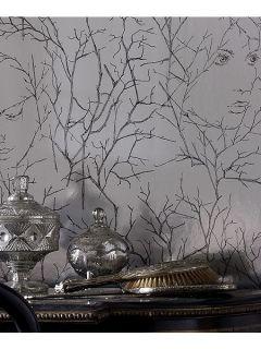 Graham & Brown Grey dawn goddess wallpaper