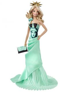 Statue of Liberty   Barbie Doll by Barbie Collector