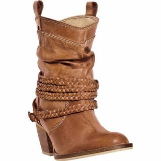 Dingo Women's Twisted Sister Fashion Boot with Twisted Ropes