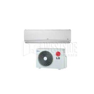 LG LS121HSV 12,000 BTU Single Zone Ductless Mini Split Air Conditioner with Heat Pump Inverter   High Efficiency